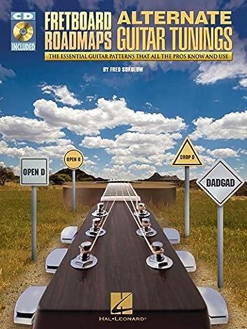 Fretboard Roadmaps Alternate Guitar Tunings Essntl Tab Patterns Bk/Cd