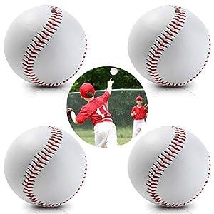 HIMETSUYA 4 Stücke Sport Baseball Trainingsspiel gewidmet Ball Anfänger...
