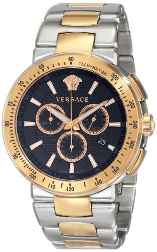 Versace VFG100014 - Reloj de Pulsera Hombre, Acero Inoxidable