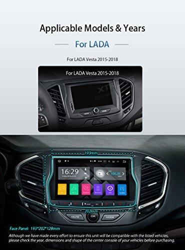 XTRONS-8-Android-Autoradio-mit-Touchscreen-Android-71-Quad-Core-Multimedia-Player-HDMI-Port-WiFi-4G-Bluetooth50-2GB-RAM-16GB-ROM-DAB-OBD2-Lenkradsteuerung-TPMS-FR-Lada-Vesta-2015-2018