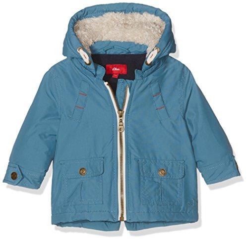 s.Oliver Unisex Baby Jacke 59.610.51.6470, Blau (Petrol 6871), 80