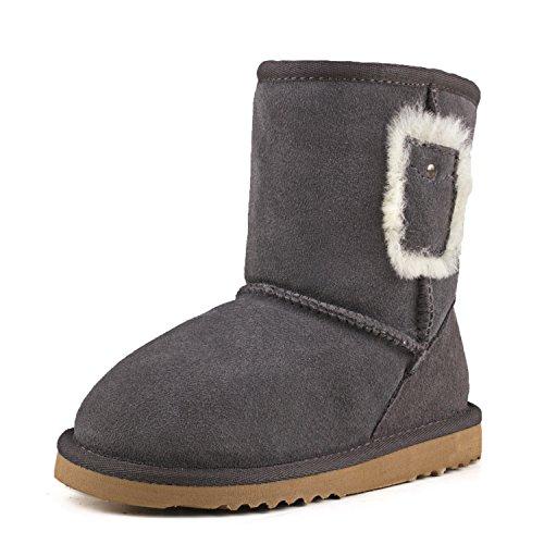 Shenduo Scarpe bambino invernali - Stivali da