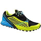 Dynafit Alpine Pro, Zapatillas de Running para Asfalto Hombre, Multicolor (Sparta Blue/Cactus), 45 EU