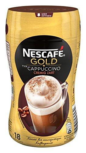 Nescafé Gold Typ Cappuccino Cremig Zart 250g Dose, 5er Pack (5 x 250g)