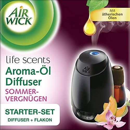 Air Wick Aroma Diffuser Starter Set, Aroma Öl-Diffuser inklusive Duftflakon Sommervergnügen mit...