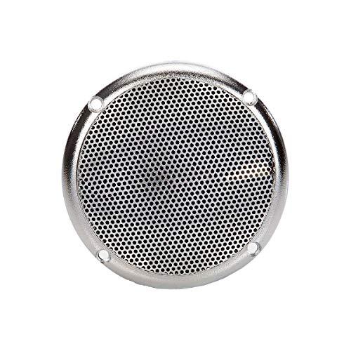 eliga Lautsprecher bis 120° C, silber Ø 90 mm