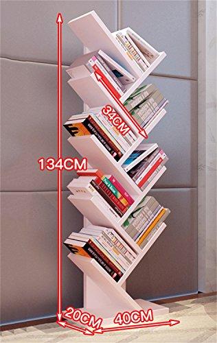 DELLT-Wanddekoration Rack Multicolor optional Floorstanding Baum Regal Regal moderne minimalistische...