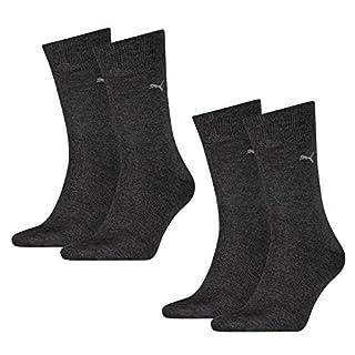 PUMA Herren Casual Socken Classic 8er Pack, Größe:43-46;Farbe:anthracite