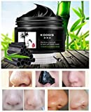 KOOGIS Bamboo Charcoal Tearing Blackhead Removal Mask Deep Clesing Acne Facial Nose by Abcstore99
