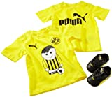 Puma Baby Set BVB King Finale Crib Pack, black-blazing yellow, 3/74, 102838 01