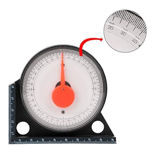 Mini-Winkelmesser, tragbar, Neigungsmesser, praktisches Klinometer, Winkel