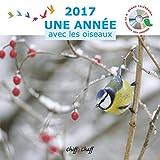 CALENDRIER MURAL 2017 + CD : Une Année avec les Oiseaux