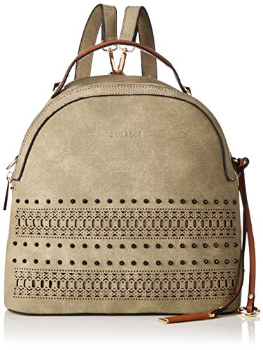 Bulaggi Damen Soutine Backpack Rucksackhandtasche, Grün (Khaki), 13x28x28 cm