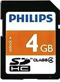 Philips FM04SD35B/10 Class 4 SDHC 4GB Speicherkarte orange