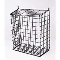 DWD (TM) Large Black Letter Box Door Cage Guard
