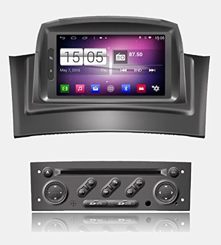roverone quod Core Android Sistema Gps de 7pulgadas Autoradio para Renault Megane...