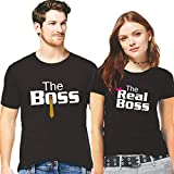 Best Gifts Under 50 For Men - Hangout Hub Couple Tshirts The Boss The Real Review