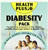 Health Plus Diabesity Pack Blood Sugar Balancing Daily Supplement - 28 Day Supply