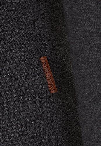 Naketano Female Knit Geh Weg VIII Dark Grey Melange