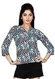 Comix Women Chinese Collar Shirt
