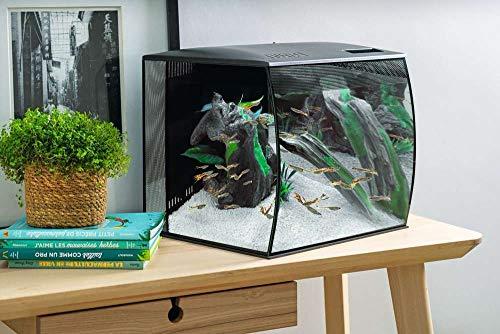 Fluval 15007 Set Aquarium Flex 57 L, schwarz