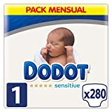 Dodot Sensitive - Pañales, Talla 2 (4-8 kg),  238 pañales (7 x 34 pañales )