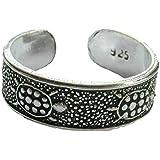 Sterling Silver Adjustable Turtles Toe Ring