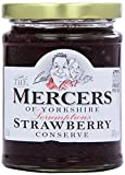 Mercers Strawberry Conserve Extra Jam 340 g (Pack of 6)