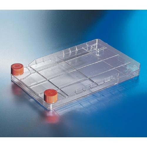 Corning 3330cellbind Polystyrol cellstack–1Kammer mit Vent Kappen (8Stück)