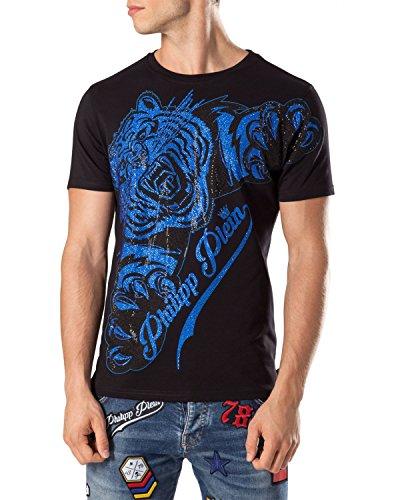 Philipp plein maglietta da uomo claws - nero, s