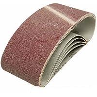 Silverline 901495de papel de lija 75x 457mm 120Grano 5unidades