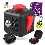 FabQuality Cube Magicfly Angst Aufmerksamkeit Spielzeug mit Bonus bei eBook enthalten (Englisch) - lindert Stress und Angst und Entspannung für Kinder und Erwachsene