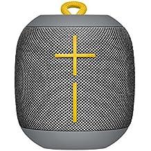 UE Wonderboom Bluetooth Lautsprecher (stoßfest Wasserdicht, Verbindung von zwei Geräten möglich) stein grau