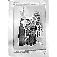 Stampa Antica delle Difficoltà Compensanti 1905 di Fotografia di Morte di Umore W Bowring - Antichi Da Collezione Delle Fotografie