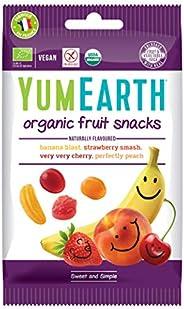 مسليات فاكهة عضوية من يام ايرث، 50 غرام - عبوة واحدة
