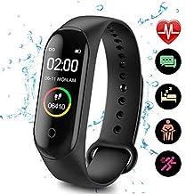 Huaze Fitness Tracker, 0.96 Inch M4 Activity Tracker Watch, Hartslag Bloeddruk Zuurstof Slaapmonitor Calorie Stappenteller Tracker voor sport, voor kinderen, dames en heren