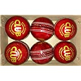 Tima Online Shopping Set Of 6 Leather Cricket Ball 2 Part