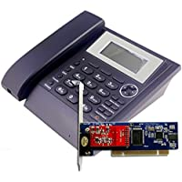 SIP Phone + FXO Card,Build a Simple VoIP Telephony System For Testing.