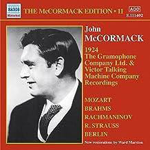 John McCormack: The Gramophone Company Ltd. & Victor Talking Machine Company Recordings