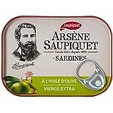 Saupiquet Sardines à l'Huile d'Olive Vierge Extra 135 g