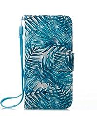 Kucosy iPhone 6/6s 3D gemaltes patrón (Piel sintética, Funda Bananenblatt