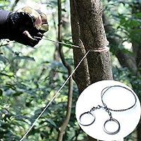 Yongse Garten Stahl Legierung Kapps/äge im Freien beweglicher Hand Kettens/äge