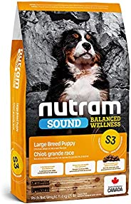 Nutram S3 Sound Balanced Wellness Large Breed Puppy Food, 11.4KG