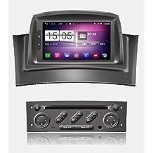 roverone quod Core Android Sistema Gps de 7pulgadas Autoradio para Renault Megane 2II fluencia con navegación Radio estéreo DVD Bluetooth SD USB espejo Enlace pantalla táctil