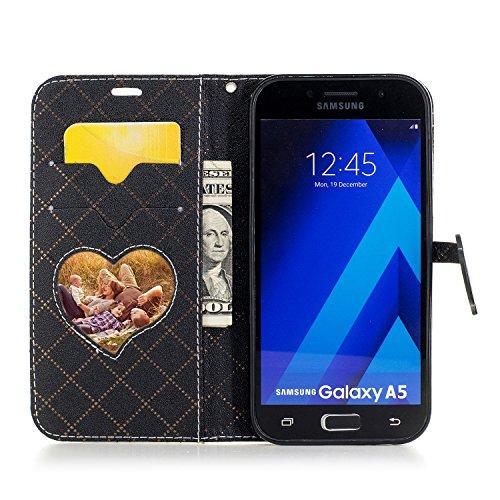 Qiaogle Téléphone Coque - PU Cuir rabat Wallet Housse Case pour Apple iPhone 6 Plus / iPhone 6S Plus (5.5 Pouce) - BF88 / Blanc BF88 / Blanc