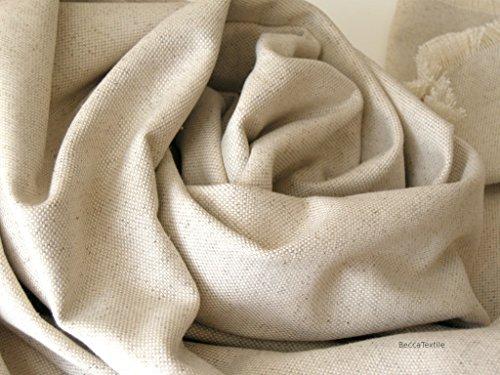 Leinendecke,Leinen Baumwoll decke, mittelschwere natürliche Stoffe , Decke für Sofa und Bett, BeccaTextile. -