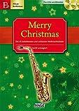 Merry Christmas, Für Altsax/Baritonsax, m. 2 Audio-CDs