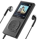 MP3-Player Victure 100 Stunden Wiedergabe Portable Verlustfreien Klang Musik Player 8GB-Speicher Erweiterbar auf bis zu 64 GB mit Kopfhörer 1.8TFT-FM Radio Voice Recorder
