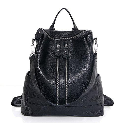 Mefly Estate Multifunctional Bag Spalle Spalla Croce Diagonale Moda Nero Personalità black
