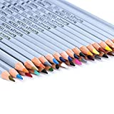 Newcomdigi Pack de 36 Lapices de Colores Lapices de Colorear para Dibujo Bosquejo Acuarela Libros de Colorear y El Jardín Secreto